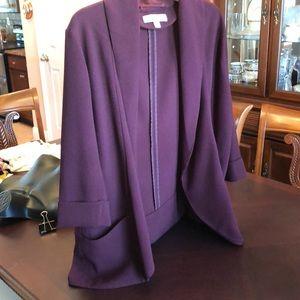 NY&C Open front blazer